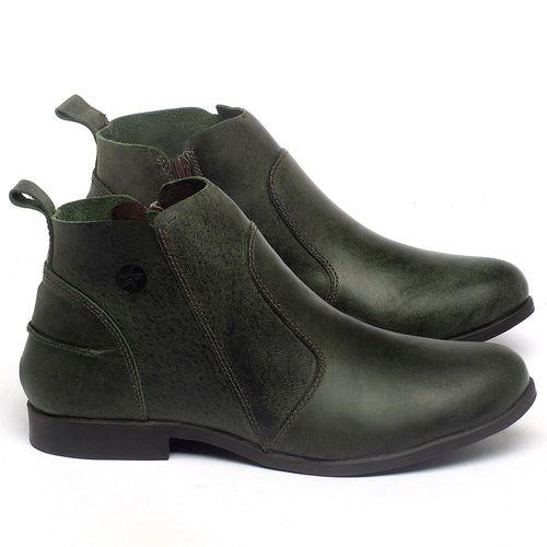 Laranja_Lima_Shoes_Sapatos_Femininos_Bota_Cano_Curto_em_Couro_Verde_-_Codigo_-_137244_1