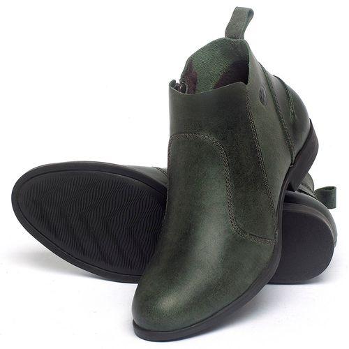 Laranja_Lima_Shoes_Sapatos_Femininos_Bota_Cano_Curto_em_Couro_Verde_-_Codigo_-_137244_2