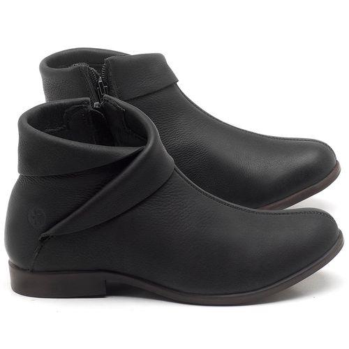 Laranja_Lima_Shoes_Sapatos_Femininos_Bota_Cano_Curto_em_Couro_Preto_-_Codigo_-_137245_1