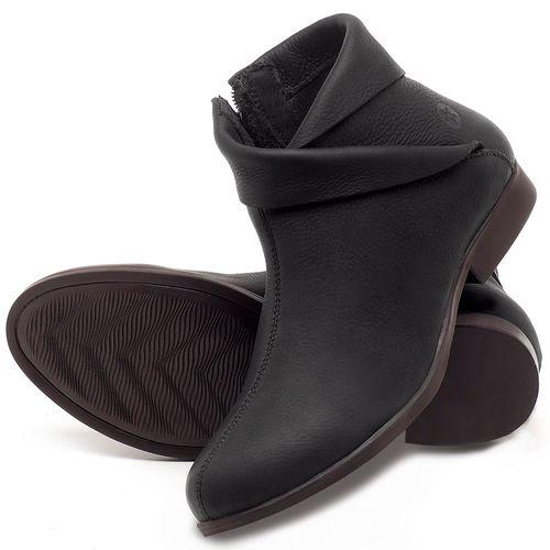 Laranja_Lima_Shoes_Sapatos_Femininos_Bota_Cano_Curto_em_Couro_Preto_-_Codigo_-_137245_2