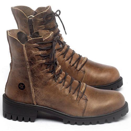 Laranja_Lima_Shoes_Sapatos_Femininos_Bota_Cano_Curto_Salto_de_4_cm_em_Couro_Marrom_-_Codigo_-_137246_1