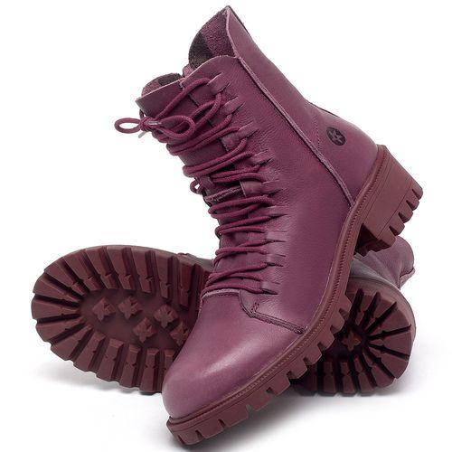 Laranja_Lima_Shoes_Sapatos_Femininos_Bota_Cano_Curto_Salto_de_4_cm_em_Couro_Roxo_-_Codigo_-_137246_2