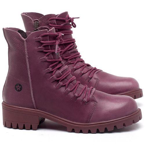 Laranja_Lima_Shoes_Sapatos_Femininos_Bota_Cano_Curto_Salto_de_4_cm_em_Couro_Roxo_-_Codigo_-_137246_3