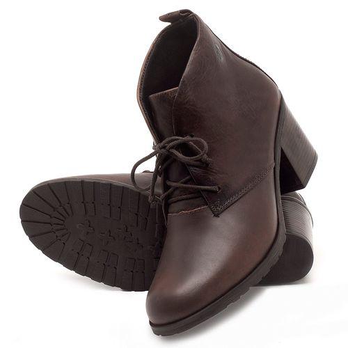 Laranja_Lima_Shoes_Sapatos_Femininos_Bota_Cano_Curto_Salto_de_6_cm_em_Couro_Cafe_-_Codigo_-_137261_2