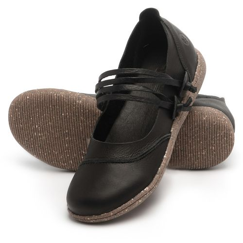Laranja_Lima_Shoes_Sapatos_Femininos_Flat_Shoes_em_Couro_Preto_-_Codigo_-_137267_2