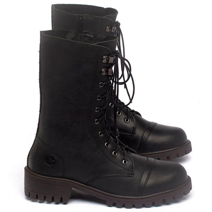Laranja_Lima_Shoes_Sapatos_Femininos_Bota_Cano_Medio_Salto_de_4_cm_em_Couro_Preto_-_Codigo_-_137237_1