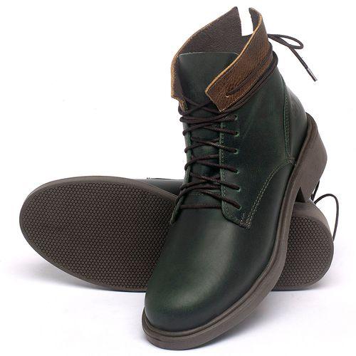 Laranja_Lima_Shoes_Sapatos_Femininos_Bota_Cano_Curto_Salto_de_3_cm_em_Couro_Verde_-_Codigo_-_137317_2