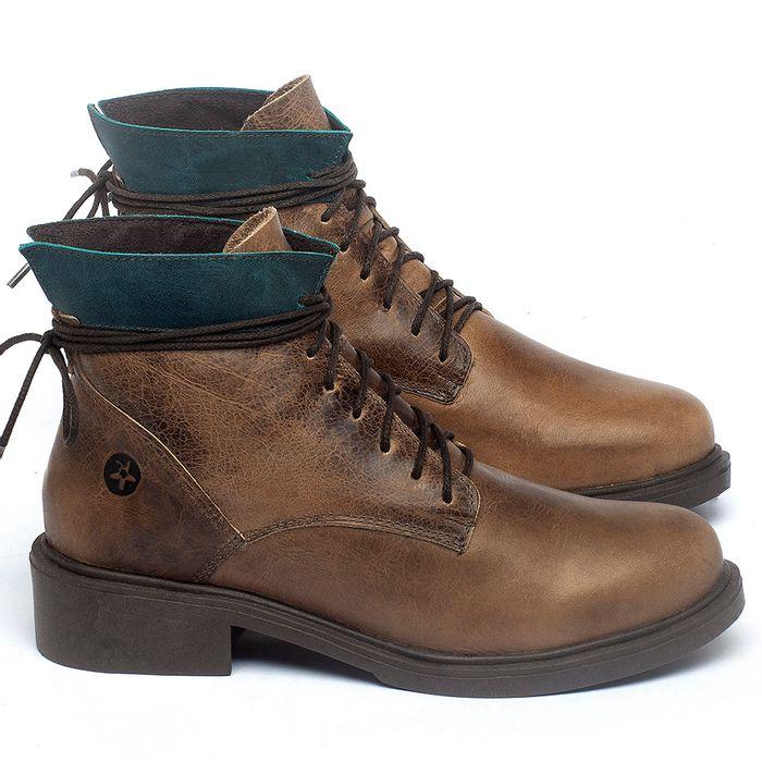 Laranja_Lima_Shoes_Sapatos_Femininos_Bota_Cano_Curto_Salto_de_3_cm_em_Couro_Marrom_-_Codigo_-_137317_1