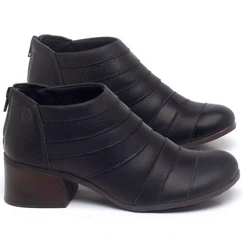Laranja_Lima_Shoes_Sapatos_Femininos_Bota_Cano_Curto_Salto_de_5_cm_em_Couro_Preto_-_Codigo_-_137162_1