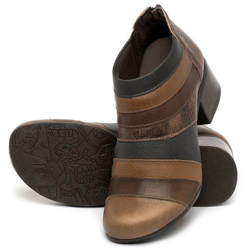 Laranja_Lima_Shoes_Sapatos_Femininos_Bota_Cano_Curto_Salto_de_5_cm_em_Couro_Multicolor_-_Codigo_-_137162_2