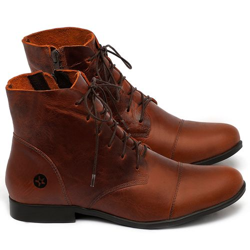 Laranja_Lima_Shoes_Sapatos_Femininos_Bota_Cano_Curto_em_Couro_Laranja_-_Codigo_-_137323_1