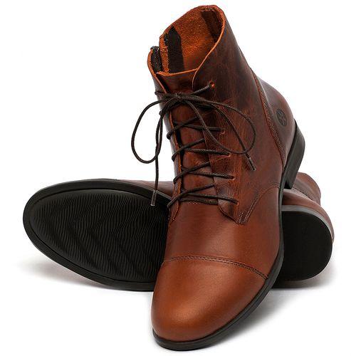 Laranja_Lima_Shoes_Sapatos_Femininos_Bota_Cano_Curto_em_Couro_Laranja_-_Codigo_-_137323_2