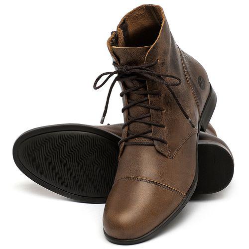Laranja_Lima_Shoes_Sapatos_Femininos_Bota_Cano_Curto_em_Couro_Marrom_-_Codigo_-_137323_2