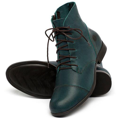 Laranja_Lima_Shoes_Sapatos_Femininos_Bota_Cano_Curto_em_Couro_Azul_-_Codigo_-_137323_2