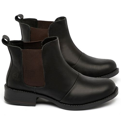Laranja_Lima_Shoes_Sapatos_Femininos_Bota_Cano_Curto_em_Couro_Preto_-_Codigo_-_141185_1