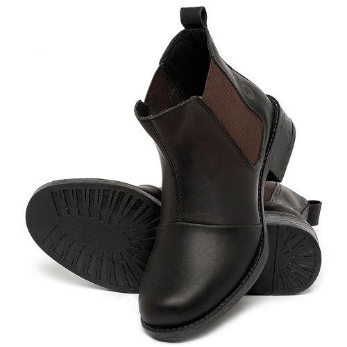 Laranja_Lima_Shoes_Sapatos_Femininos_Bota_Cano_Curto_em_Couro_Preto_-_Codigo_-_141185_2