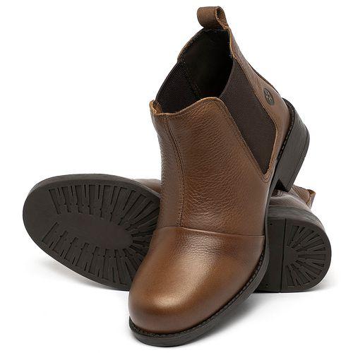 Laranja_Lima_Shoes_Sapatos_Femininos_Bota_Cano_Curto_em_Couro_Caramelo_-_Codigo_-_141185_2
