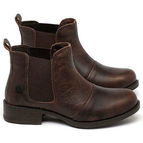 Laranja_Lima_Shoes_Sapatos_Femininos_Bota_Cano_Curto_em_Couro_Marrom_-_Codigo_-_141185_1
