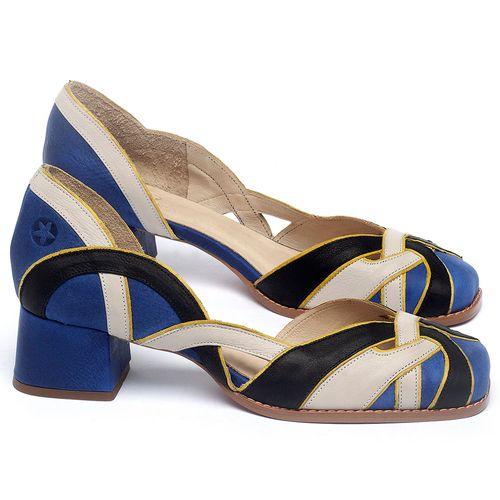 Laranja_Lima_Shoes_Sapatos_Femininos_Scarpin_Salto_Baixo_de_4_cm_em_Couro_Multicolor_-_Codigo_-_3739_1