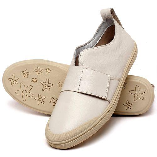 Laranja_Lima_Shoes_Sapatos_Femininos_Tenis_Cano_Baixo_em_Couro_Off-White_-_Codigo_-_56206_2