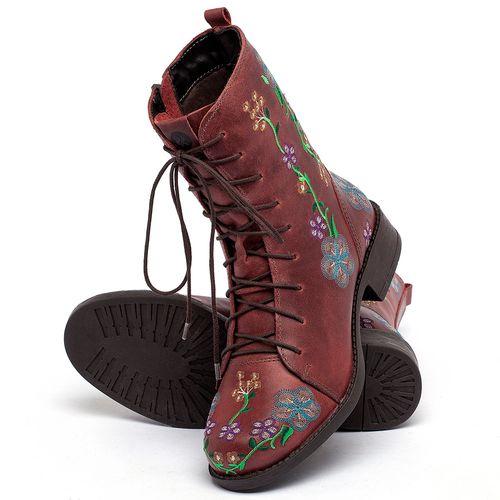 Laranja_Lima_Shoes_Sapatos_Femininos_Bota_Cano_Curto_Salto_de_3_cm_em_Couro_Vermelho_-_Codigo_-_141127_2