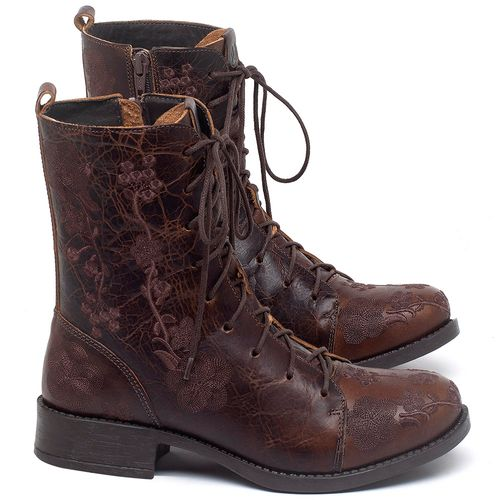 Laranja_Lima_Shoes_Sapatos_Femininos_Bota_Cano_Curto_Salto_de_3_cm_em_Couro_Marrom_-_Codigo_-_141127_1