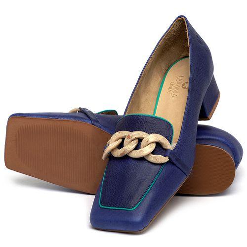 Laranja_Lima_Shoes_Sapatos_Femininos_Scarpin_Salto_Baixo_de_2_cm_em_Couro_Azul_-_Codigo_-_3733_2