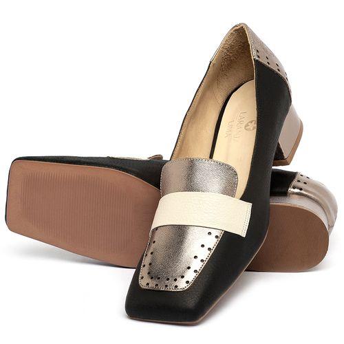 Laranja_Lima_Shoes_Sapatos_Femininos_Scarpin_Salto_Baixo_de_2_cm_em_Couro_Preto_-_Codigo_-_3735_2