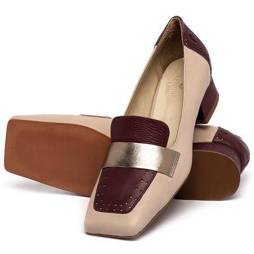 Laranja_Lima_Shoes_Sapatos_Femininos_Scarpin_Salto_Baixo_de_2_cm_em_Couro_Nude_-_Codigo_-_3735_2