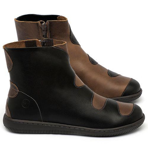 Laranja_Lima_Shoes_Sapatos_Femininos_Bota_Cano_Curto_em_Couro_Preto_-_Codigo_-_137325_1