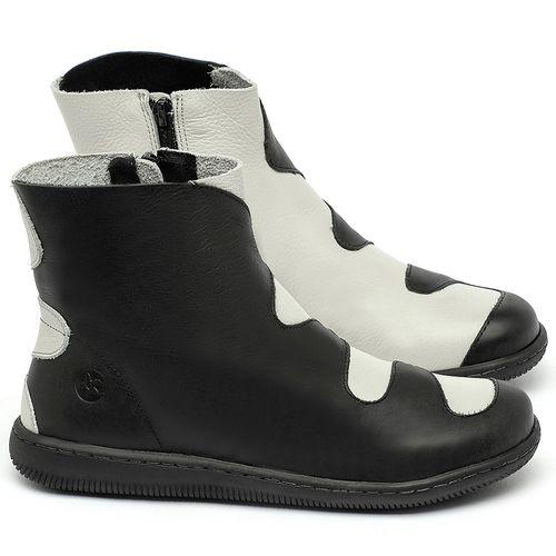 Laranja_Lima_Shoes_Sapatos_Femininos_Bota_Cano_Curto_em_Couro_P_-_B_-_Codigo_-_137325_1
