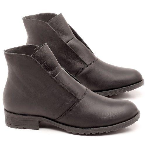 Laranja_Lima_Shoes_Sapatos_Femininos_Bota_Cano_Curto_em_Couro_Preto_-_Codigo_-_56077_1