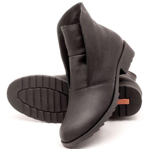 Laranja_Lima_Shoes_Sapatos_Femininos_Bota_Cano_Curto_em_Couro_Preto_-_Codigo_-_56077_2