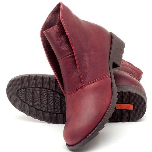 Laranja_Lima_Shoes_Sapatos_Femininos_Bota_Cano_Curto_em_Couro_Vinho_-_Codigo_-_56077_2