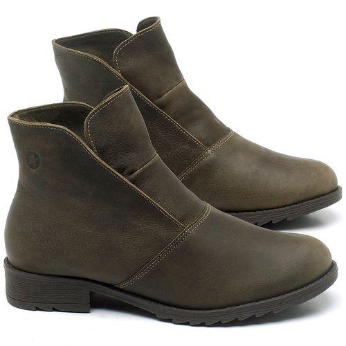 Laranja_Lima_Shoes_Sapatos_Femininos_Bota_Cano_Curto_em_Couro_Musgo_-_Codigo_-_56077_1