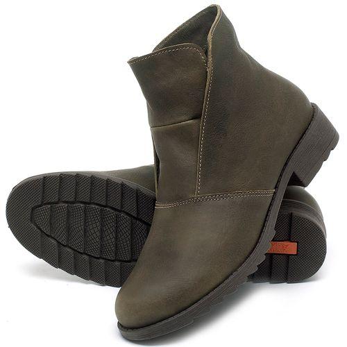 Laranja_Lima_Shoes_Sapatos_Femininos_Bota_Cano_Curto_em_Couro_Musgo_-_Codigo_-_56077_2