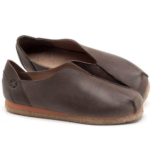 Laranja_Lima_Shoes_Sapatos_Femininos_Sapatilha_Bico_Quadrado_em_Couro_Marrom_-_Codigo_-_3050_1