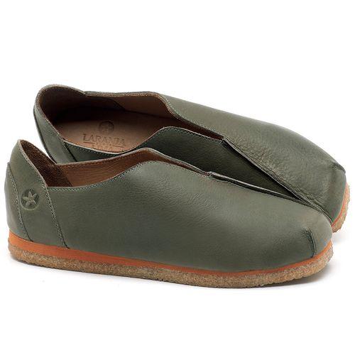 Laranja_Lima_Shoes_Sapatos_Femininos_Sapatilha_Bico_Quadrado_em_Couro_Verde_-_Codigo_-_3050_1