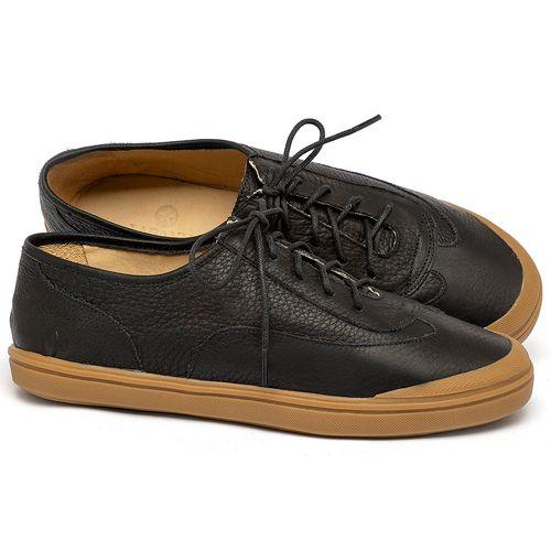 Laranja_Lima_Shoes_Sapatos_Femininos_Tenis_Cano_Baixo_em_Couro_Preto_-_Codigo_-_3748_1