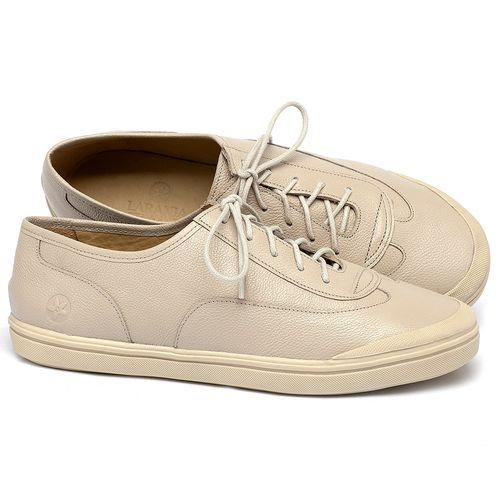 Laranja_Lima_Shoes_Sapatos_Femininos_Tenis_Cano_Baixo_em_Couro_Off-White_-_Codigo_-_3748_1