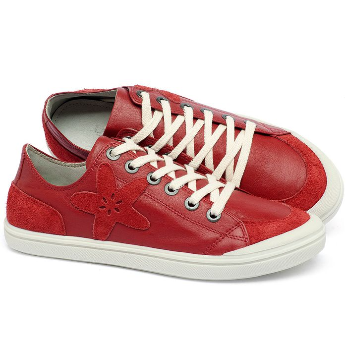 Laranja_Lima_Shoes_Sapatos_Femininos_Tenis_Cano_Baixo_em_Couro_Vermelho_-_Codigo_-_56214_4