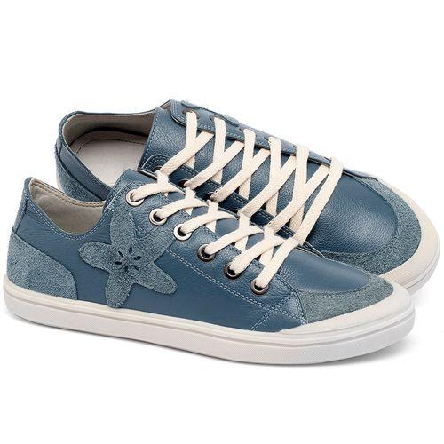 Laranja_Lima_Shoes_Sapatos_Femininos_Tenis_Cano_Baixo_em_Couro_Azul_-_Codigo_-_56214_3