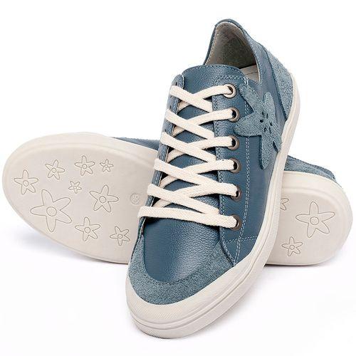 Laranja_Lima_Shoes_Sapatos_Femininos_Tenis_Cano_Baixo_em_Couro_Azul_-_Codigo_-_56214_5