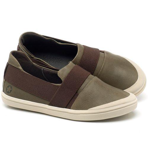 Laranja_Lima_Shoes_Sapatos_Femininos_Tenis_Cano_Baixo_em_Couro_Verde_-_Codigo_-_56198_1