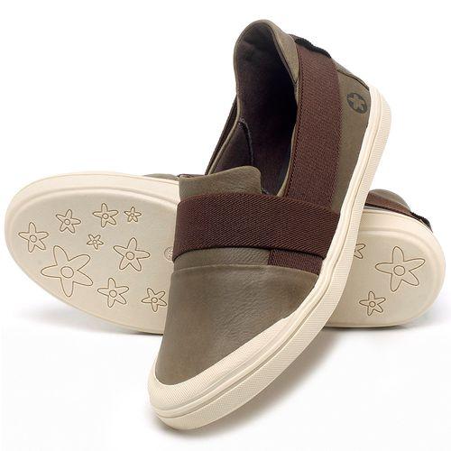 Laranja_Lima_Shoes_Sapatos_Femininos_Tenis_Cano_Baixo_em_Couro_Verde_-_Codigo_-_56198_2