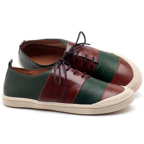 Laranja_Lima_Shoes_Sapatos_Femininos_Tenis_Cano_Baixo_em_Couro_Verde_-_Codigo_-_56181_1