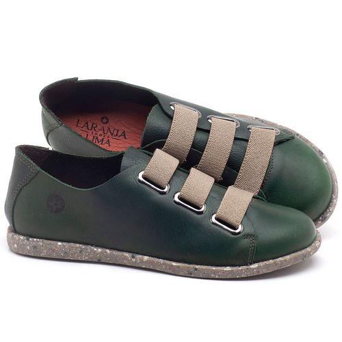 Laranja_Lima_Shoes_Sapatos_Femininos_Tenis_Cano_Baixo_em_Couro_Verde_-_Codigo_-_137226_1