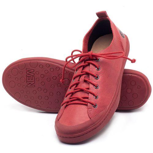 Laranja_Lima_Shoes_Sapatos_Femininos_Tenis_Cano_Baixo_em_Couro_Vermelho_-_Codigo_-_141112_2