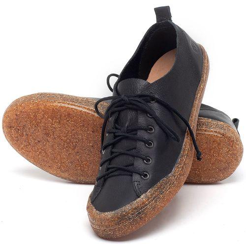 Laranja_Lima_Shoes_Sapatos_Femininos_Tenis_Cano_Baixo_em_Couro_Preto_-_Codigo_-_141112_2