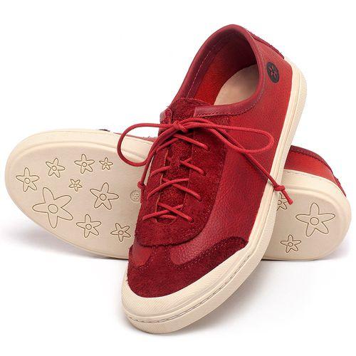 Laranja_Lima_Shoes_Sapatos_Femininos_Tenis_Cano_Baixo_em_Couro_Vermelho_-_Codigo_-_141145_2